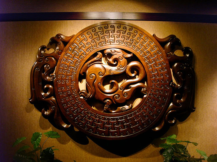 World Travel Photos :: Polin :: Guangzhou - a decoration at the hotel