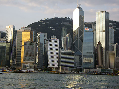 World Travel Photos :: China - Hong Kong :: Hong Kong. City View from Harbor
