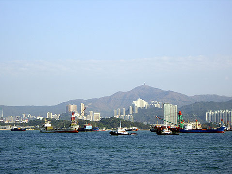 World Travel Photos :: City views :: Hong Kong Harbor