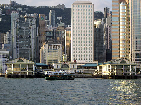 World Travel Photos :: Victoria harbour :: Hong Kong Harbor.