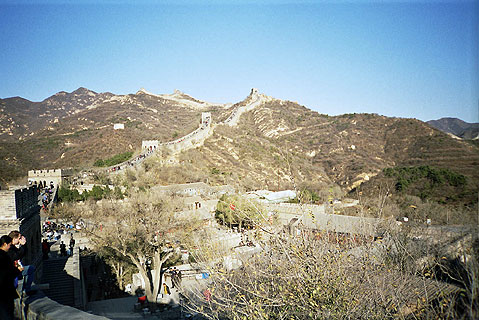 World Travel Photos :: Great Chinese Wall :: China. Great Chinese Wall - UNESCO World Heritage Site
