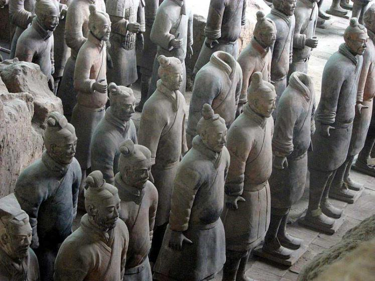 World Travel Photos :: Landmarks :: China. Terracotta Army