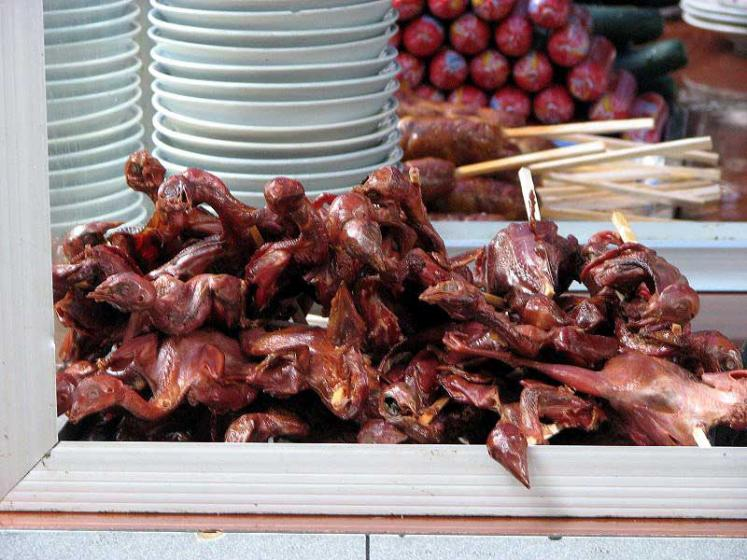 World Travel Photos :: Traditional food :: Chinese delicatessen