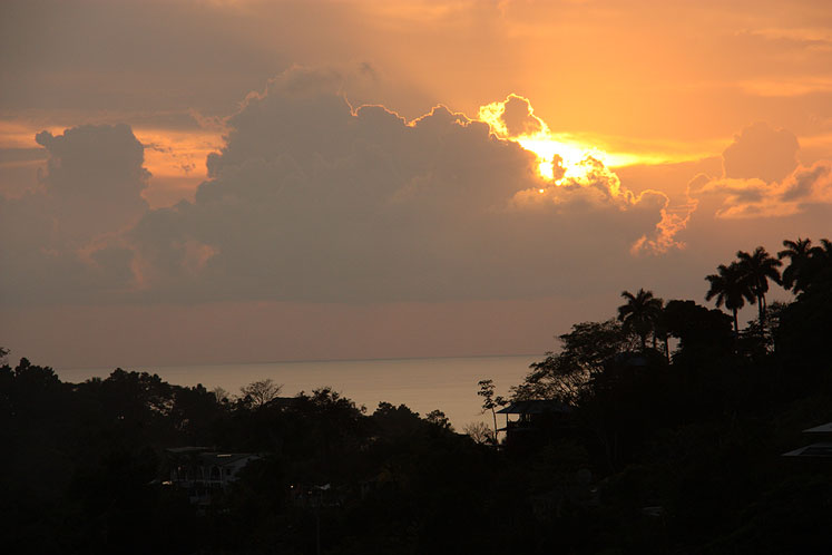 World Travel Photos :: Costa Rica :: Costa Rica. A beautiful sunset in Manuel Antonio