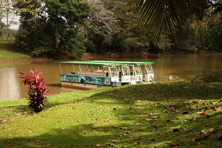 World Travel Photos :: Costa Rica :: Costa-Rica. Tour boats in Cano Negro Natural Reserve