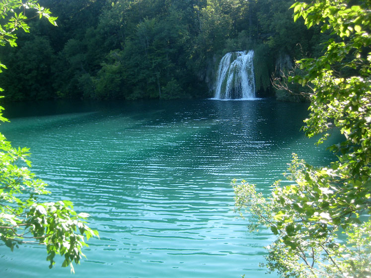 World Travel Photos :: Waterfalls :: Croatia.Plitvice Lakes National Park