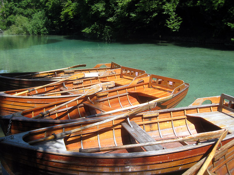 World Travel Photos :: Eidemara :: Croatia.Plitvice Lakes National Park - boats