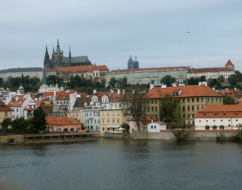 World Travel Photos :: Prague Castle :: Prague. Prague Castle and St. Vitus Cathedral