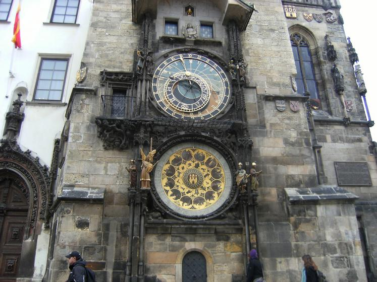 World Travel Photos :: Czech Republic - Prague :: Prague. A clock