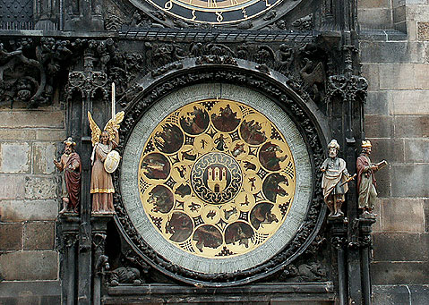 World Travel Photos :: Astronomical Clock :: Prague. Astronomical Clock (Prague Orloj )