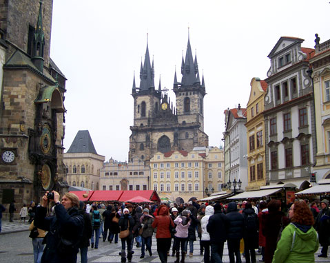 World Travel Photos :: Staromestka Square :: Prague. Central square