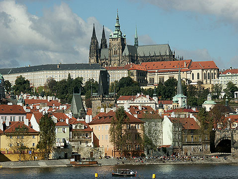 World Travel Photos :: Panoramic views :: Prague. St. Vitus Cathedral and Prague Castle