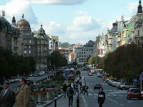 World Travel Photos :: Fragments of city life :: Prague. Vaclav Square