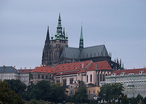 World Travel Photos :: St. Vitus Cathedral :: Prague. View on St. Vitus Cathedral