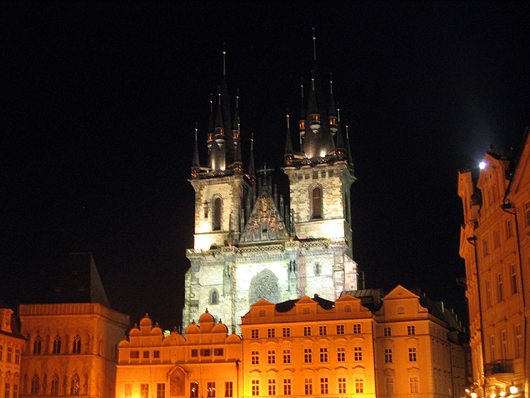 World Travel Photos :: Czech Republic - Prague :: Prague at night