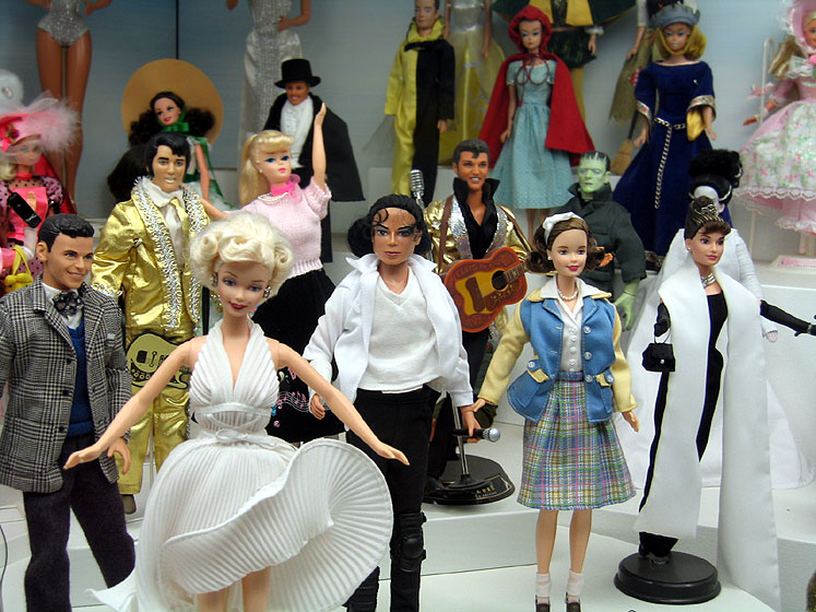 World Travel Photos :: Czech Republic - Prague :: Prague. Toys Museum - celebrities