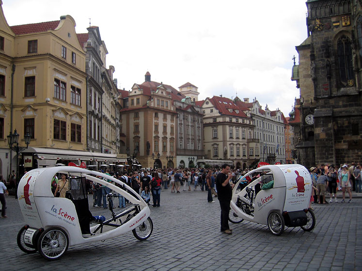World Travel Photos :: Czech Republic - Prague :: Prague. Velocabs