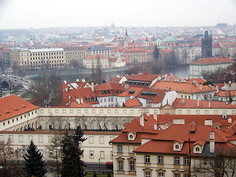 World Travel Photos :: Panoramic views :: Prague - panoramic view