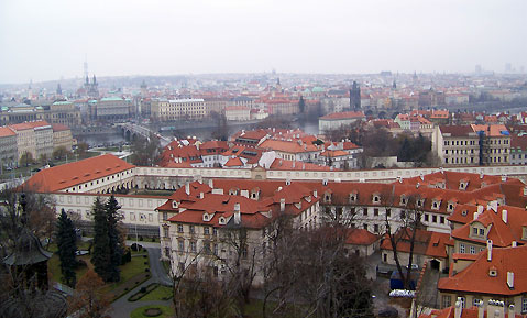 World Travel Photos :: Czech Republic - Prague :: Prague - a panoramic view of the city