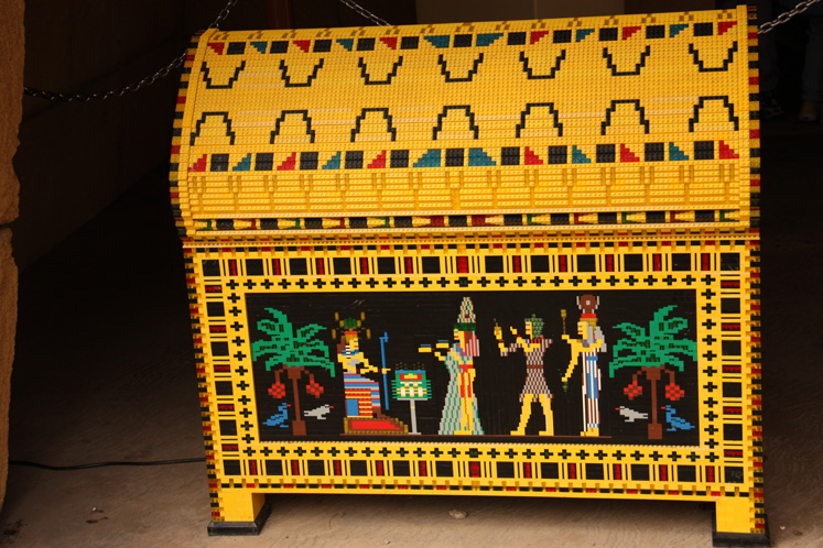 World Travel Photos :: Denmark - Billund - Legoland :: Billund. Legoland - a treasure chest