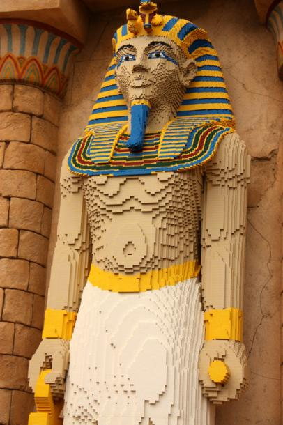 World Travel Photos :: Amusement & theme parks  :: Billund. Legoland - ancient Egyptian