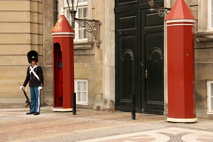 World Travel Photos :: Denmark - Copenhagen :: Copenhagen. A Royal Guard