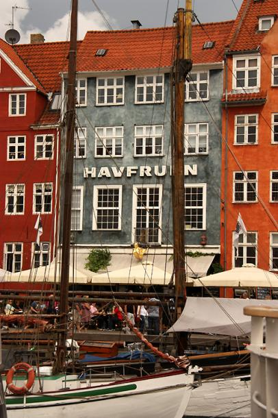 World Travel Photos :: Denmark - Copenhagen :: Copenhagen. Colorful houses of Nyhavn