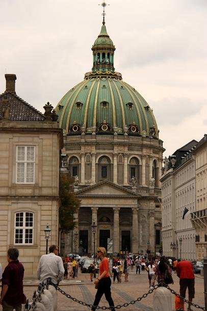 World Travel Photos :: Denmark - Copenhagen :: Copenhagen. Frederik´s Church
