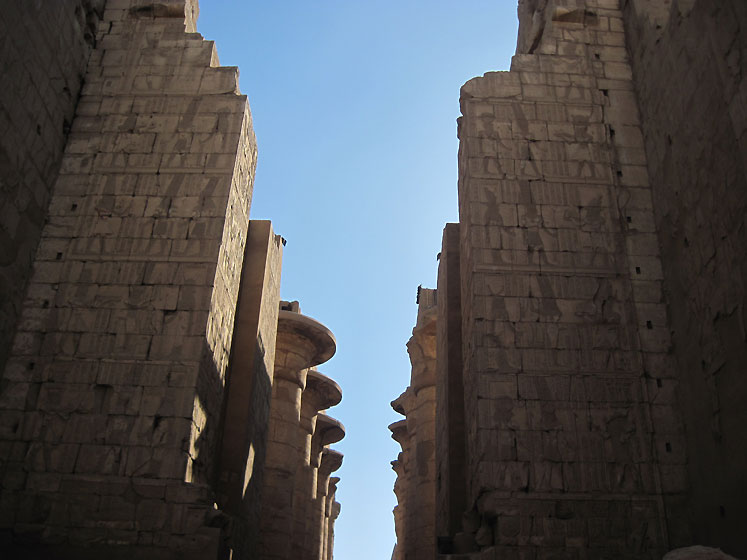 World Travel Photos :: Olga :: Egypt. Karnak Temple - near Luxor