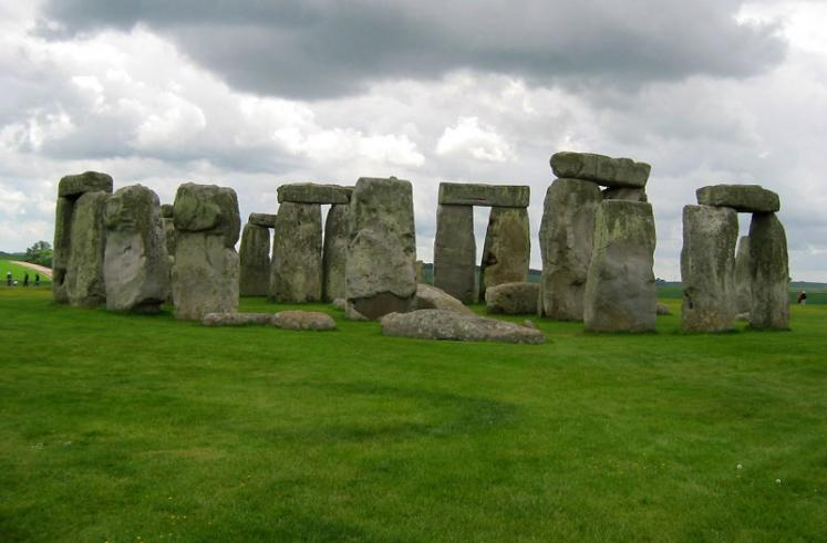 World Travel Photos :: UNESCO World Heritage Sites :: Stonehenge - UNESCO World Heritage Site