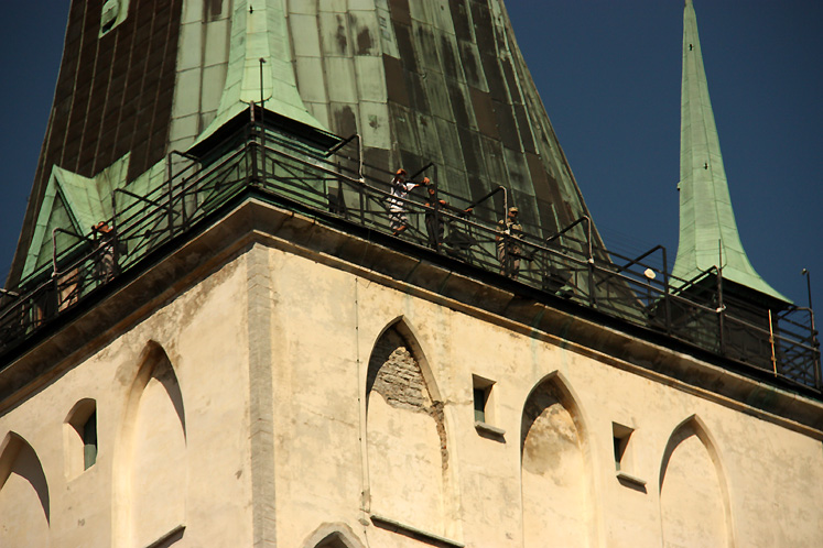 World Travel Photos :: Estonia - Tallinn :: Tallinn. An observation deck of the St. Olaf`s Church