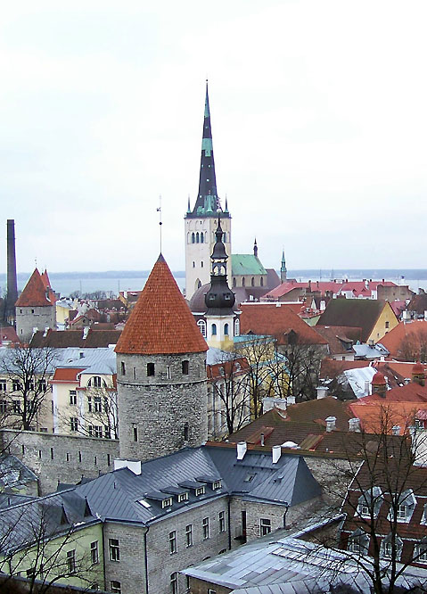 World Travel Photos :: UNESCO World Heritage Sites :: Tallinn - UNESCO World Heritage Site