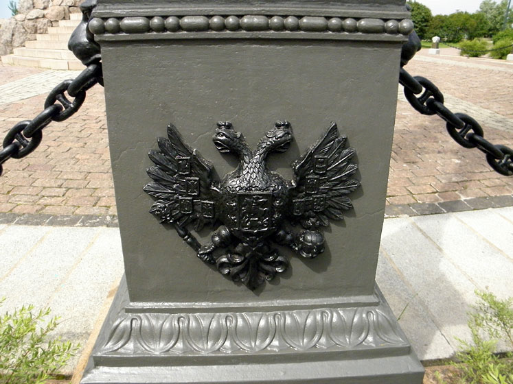 World Travel Photos :: Ivan :: Tallinn. A Russian Royal symbol on the monument