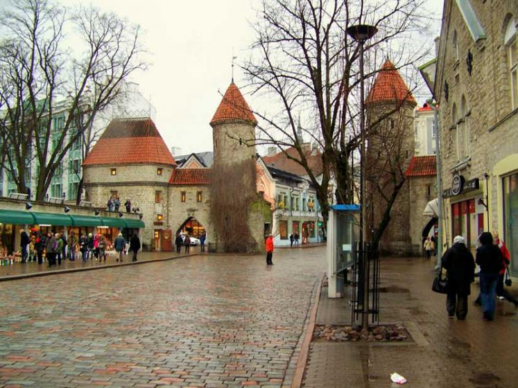 World Travel Photos :: Ivan :: Tallinn. Viru gate