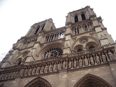 World Travel Photos :: Dave C. :: Paris. Notre-Dame Cathedral
