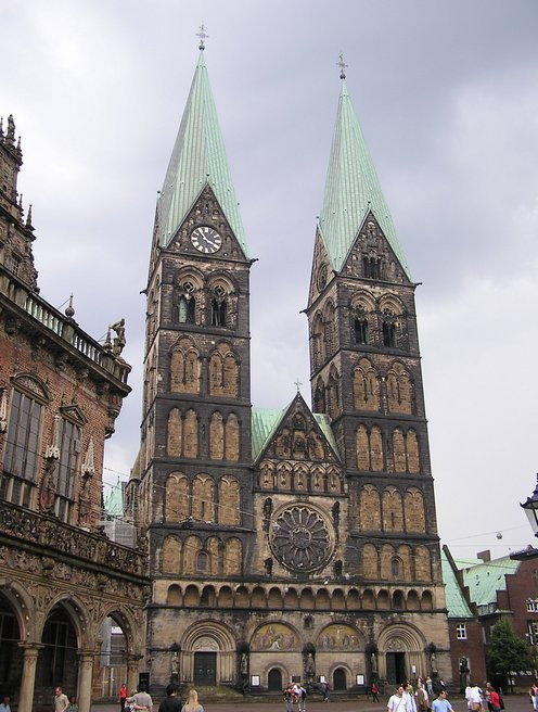World Travel Photos :: Germany - Bremen :: Germany. Bremen - St. Peter´s Cathedral
