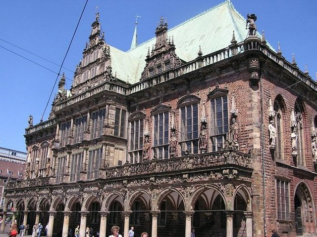 World Travel Photos :: Germany - Bremen :: Germany. Bremen - Bremen city hall