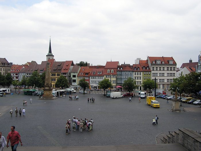 World Travel Photos :: Panoramic views :: Germany. Erfurt