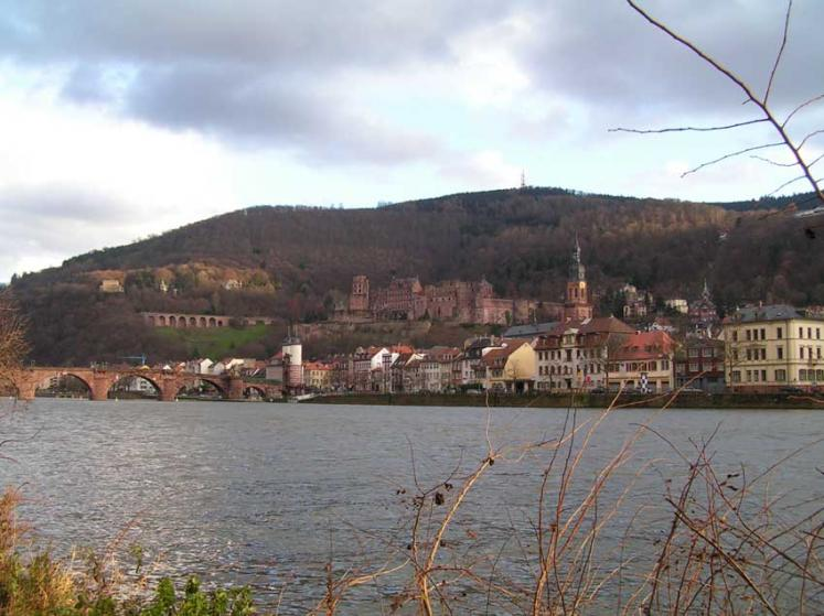 World Travel Photos :: itai :: Heidelberg. Neckar River