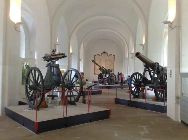 World Travel Photos :: Germany - Misc :: Germany. Moritzburg -canons in a local museum