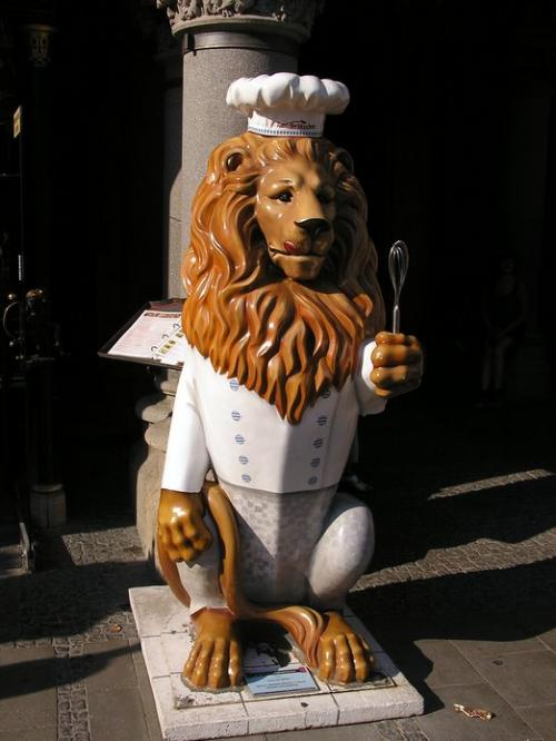 World Travel Photos :: Germany - Munich :: Germany. Munich - The Munich lions