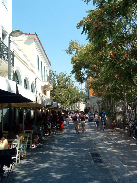 World Travel Photos :: Greece - Athens :: Athens. Market area Plaka