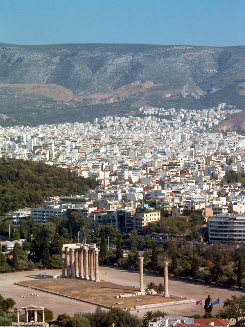 World Travel Photos :: Panoramic views :: Athens