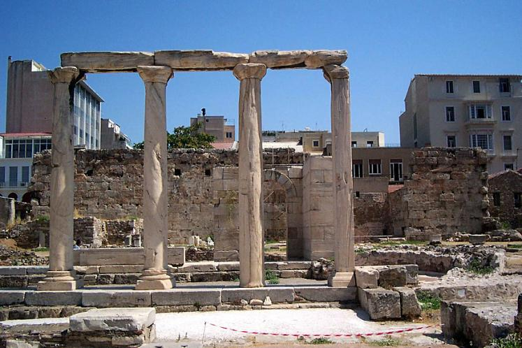 World Travel Photos :: Greece - Athens :: Athens. Ancient ruins