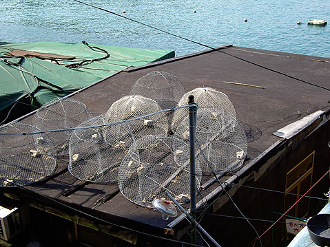 World Travel Photos :: China - Hong Kong - Lamma Island :: Hong Kong. Lamma Island - fishing gear