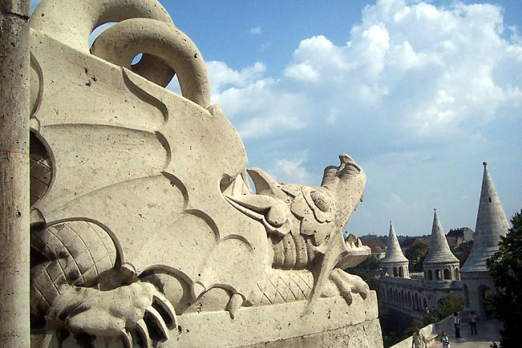 World Travel Photos :: Garth :: Budapest - a dragon