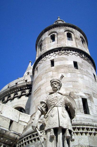 World Travel Photos :: Garth :: Budapest - an old tower