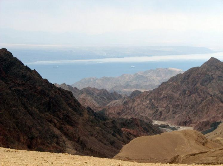 World Travel Photos :: Israel - Eilat :: Israel. Eilat - Mountains and Red sea