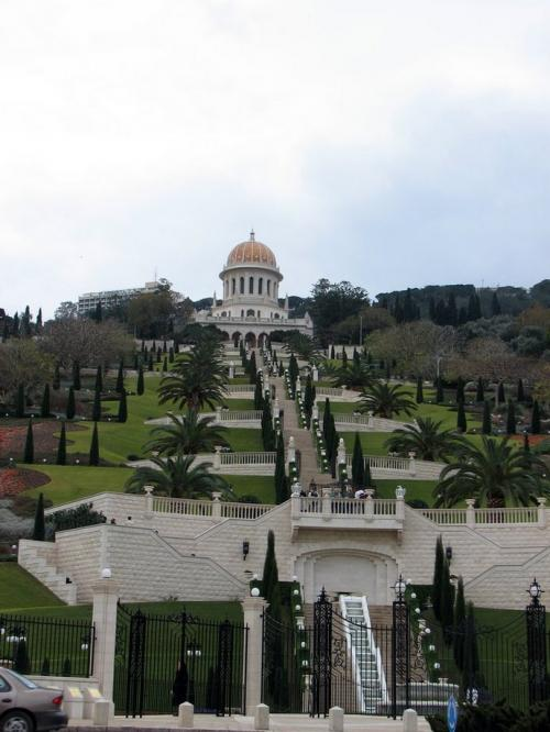 World Travel Photos :: Israel - Haifa :: Israel. Haifa.Bahai Temple (Shrine of the Báb) - UNESCO World Heritage Site