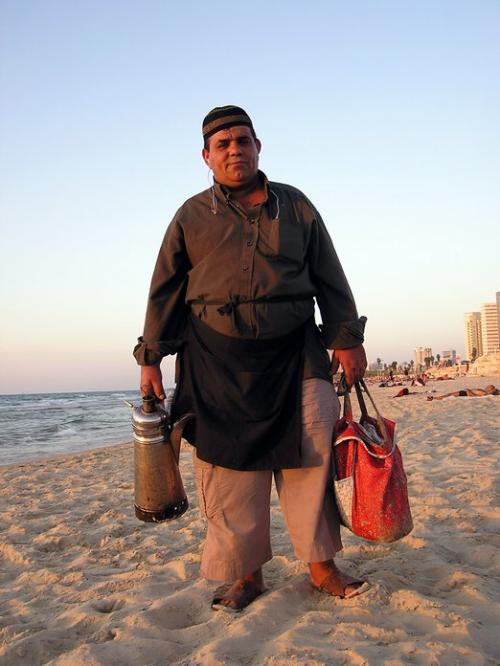 World Travel Photos :: Israel - Jaffa :: Israel. Jaffa. Coffe seller